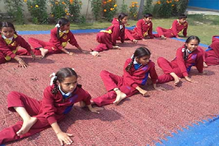 The Lords School-Yoga day