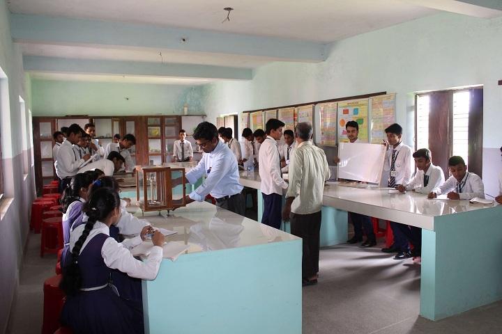 Katahari Public School-Chemistry Lab