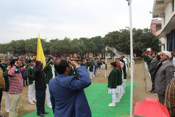 Katahari Public School-Flag Hosting