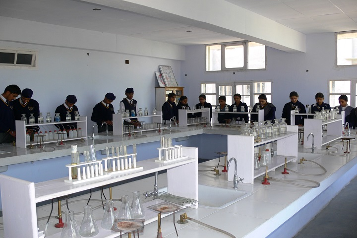 The Pinewood International Senior Secondary School-Chemistry Lab