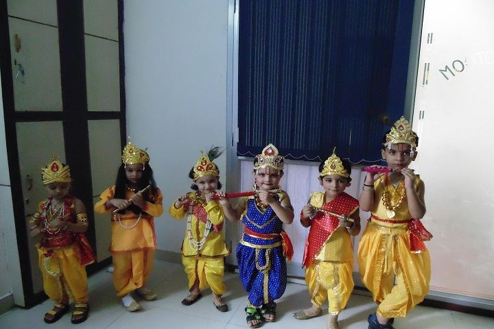 The Royal World International School-Janmastami Celebrations