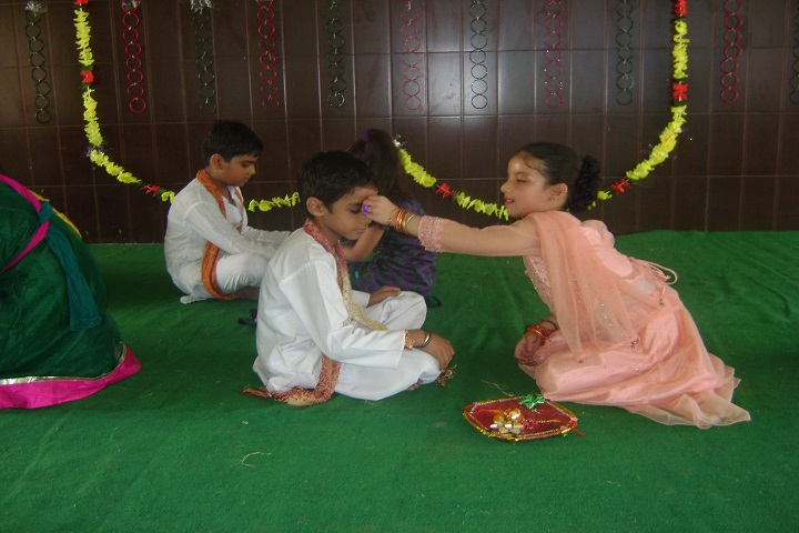 The Royal World International School-Rakhi Celebrations