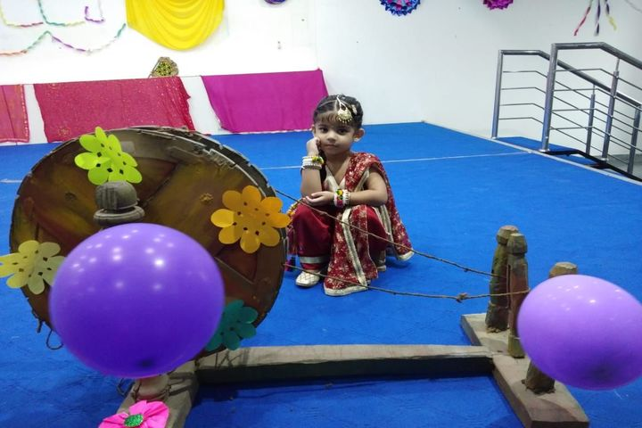 Uma Rana Public School-Teej Celebrations