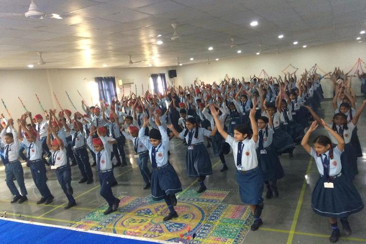 Uma Rana Public School-Yoga Day