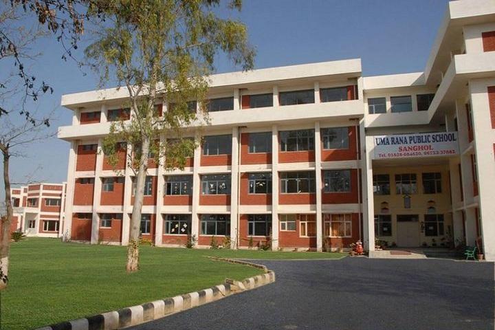 Uma Rana Public School-Building