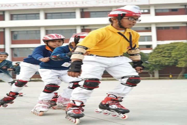 Uma Rana Public School-Skating