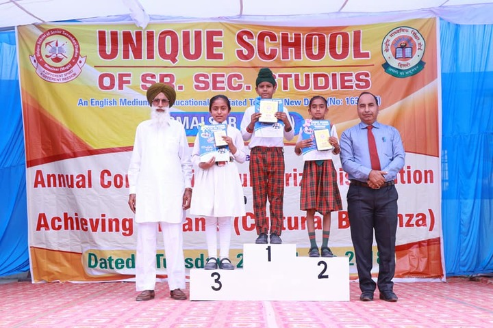 Unique School of Senior Secondary Studies-Prize Distribution
