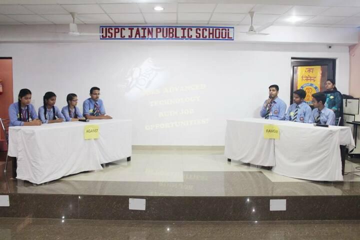 Uspc Jain Public School-Debate