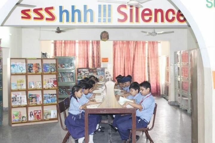 Uspc Jain Public School-Library