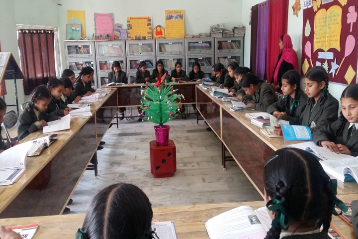 Vishal Public Senior Secondary School-Library