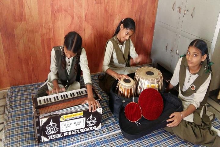 Vishal Public Senior Secondary School-Music room