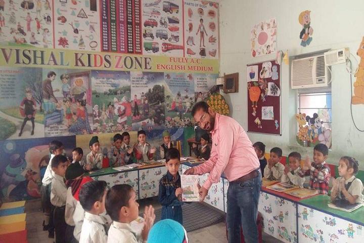 Vishal Public Senior Secondary School-Nursery room