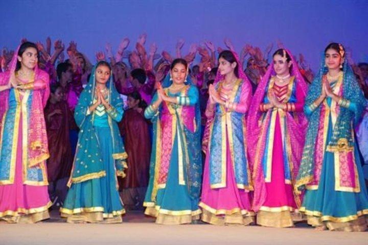 Vivek High School-Cultural Dance
