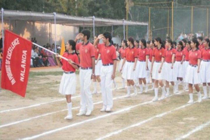 Vivek High School-March Past