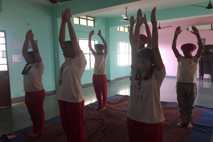 Wahe Guru Public School-Yoga