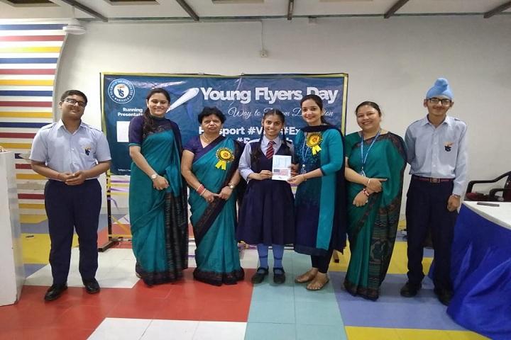 Y S Public School-Young flyers day