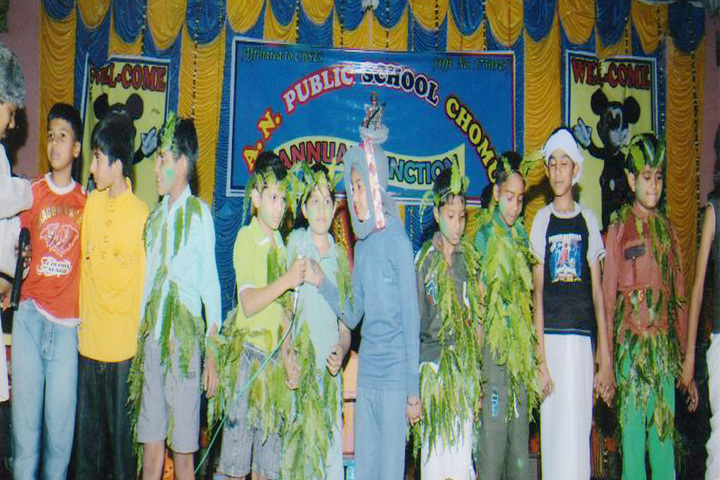 A N Public Secondary School-Annual Function