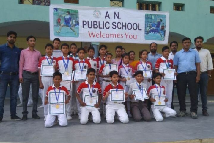 A N Public Secondary School-Sports Team