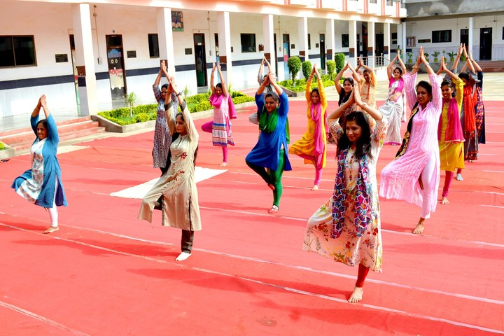 A V S Public School-Yoga