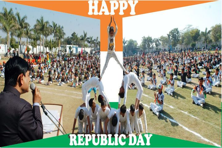 AS Saint Steward Morris School-Republic Day