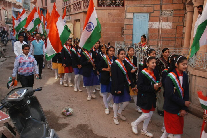 Aakanksha International School-The Gurukul-Independance Day Event