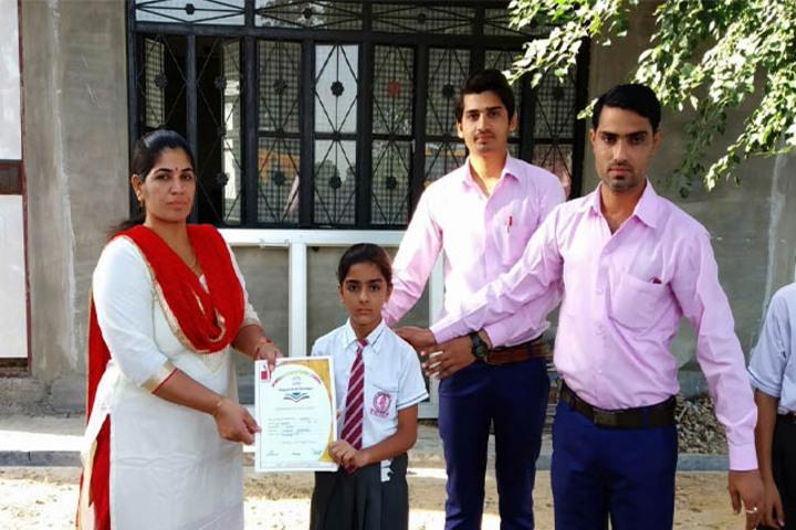 Adarsh International School-Award