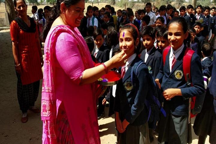 Adarsh International School-Holi Celebration