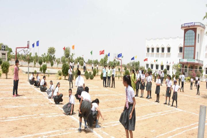 Adarsh International School-Sports