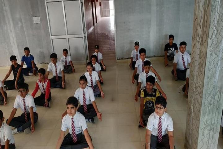 Adarsh International School-Yoga