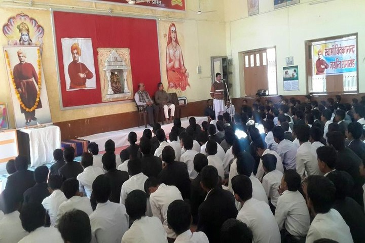 Adarsh Vidya Mandir-Meeting