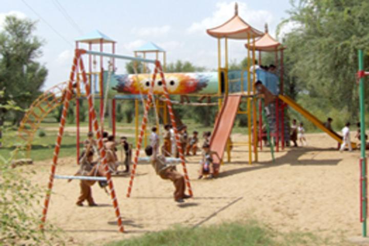 Adrash Vidya Mandir Mandawa-Play Ground
