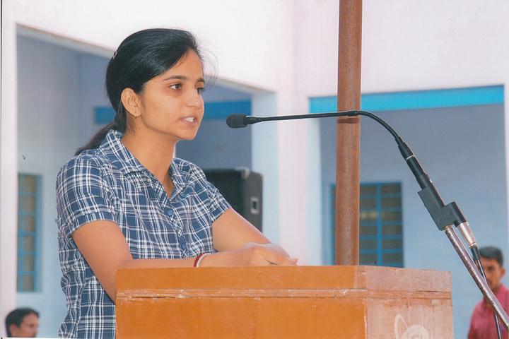 Adrash Vidya Mandir Mandawa-Speech
