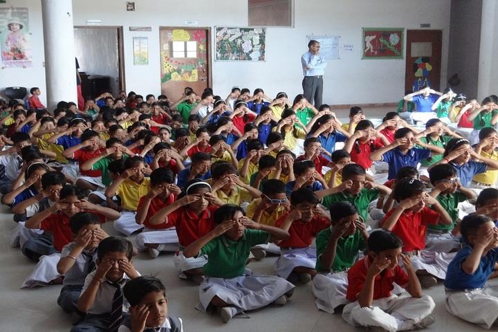 Aegis International School-Yoga