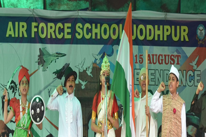 Air Force School-Independence Day Events