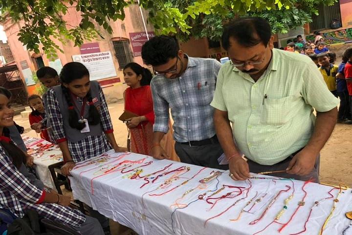 Kendriya Vidyalaya-Rakhi Making Competition