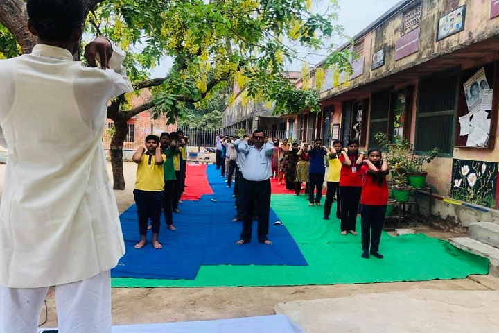 Kendriya Vidyalaya-Yoga Class