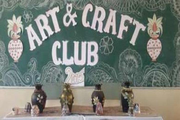 All Saints Senior Secondary School-Art and Craft