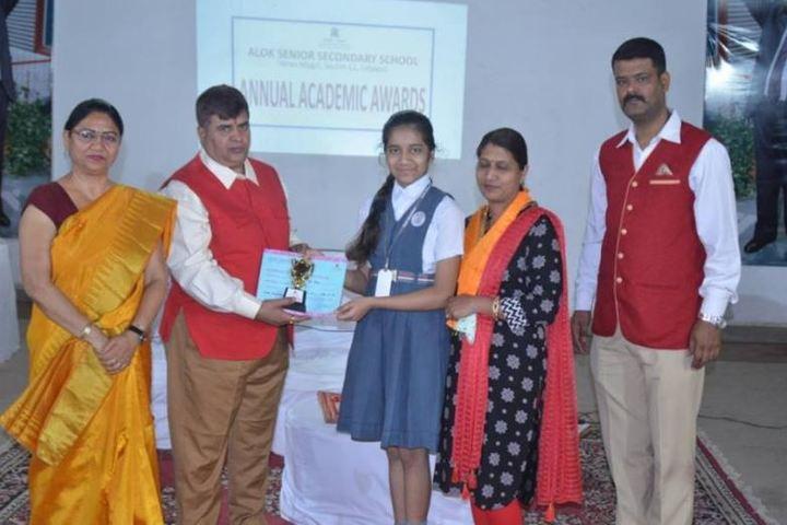 Alok Senior Secondary School-Annual Academic Award Ceremony