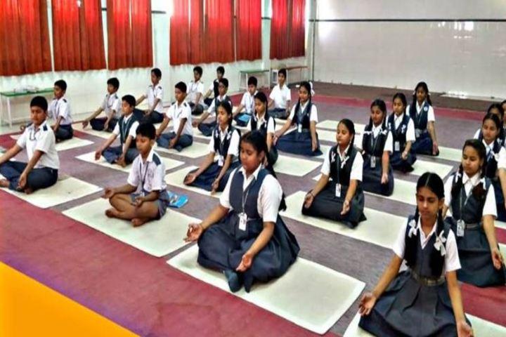 Alok Senior Secondary School-Yoga