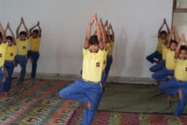 Alpha Academy-Yoga Day