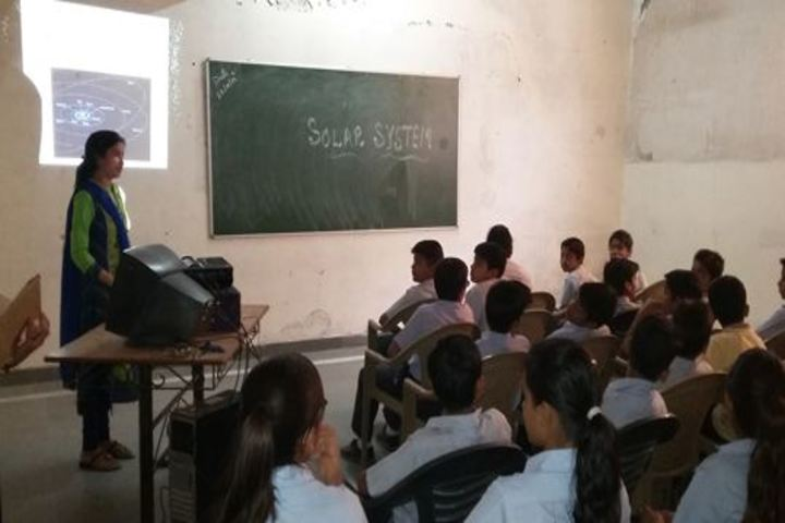 Alpha Beta School-Pariksha Par Charcha Activity