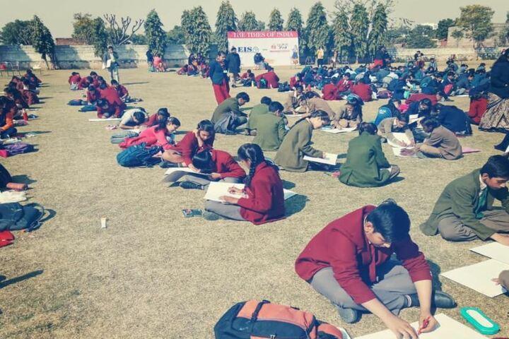 Alpha International AcademyInter School Drawing Competetion Day