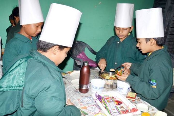 Apex International School-Cookiing without fire