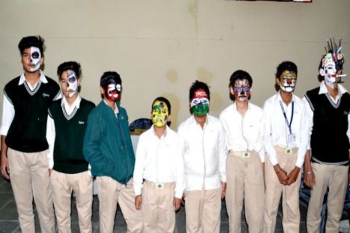 Apex International School-Face Painting