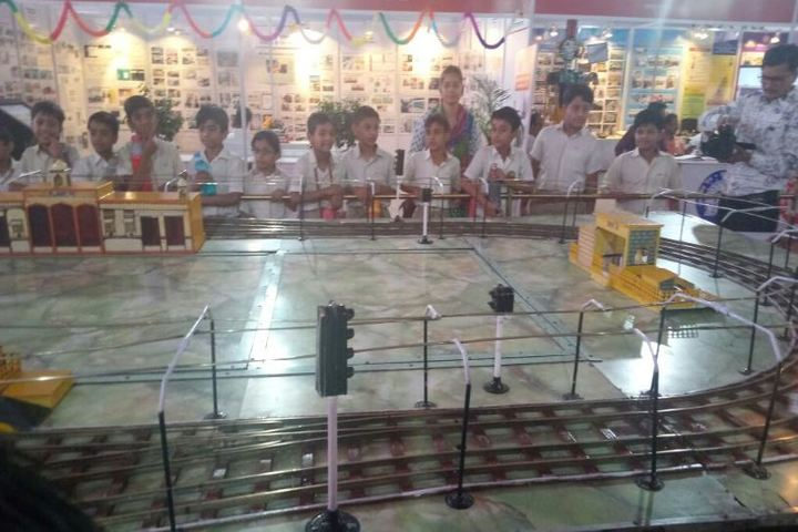 Apex International School-Railway Exhibition Visit