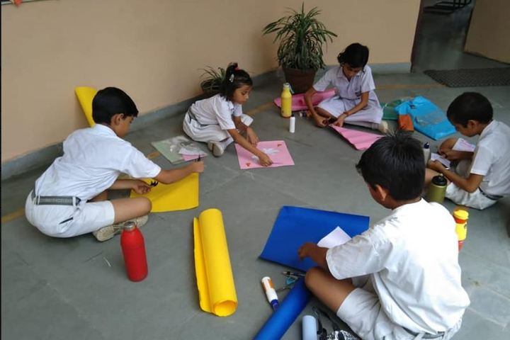 Arihant International School-Art and craft