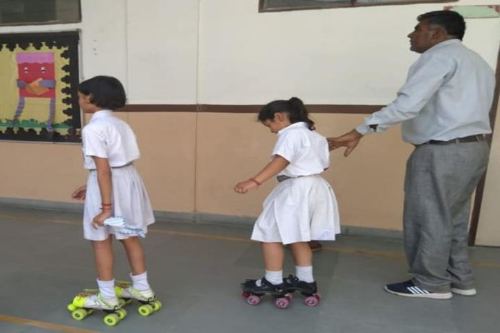 Arihant International School-Skating