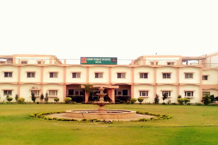 Army Public School-Campus View front