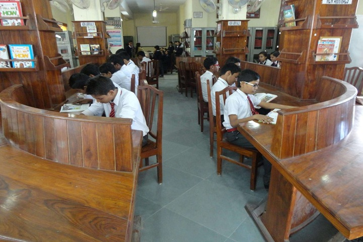 Army Public School-Library with reading room