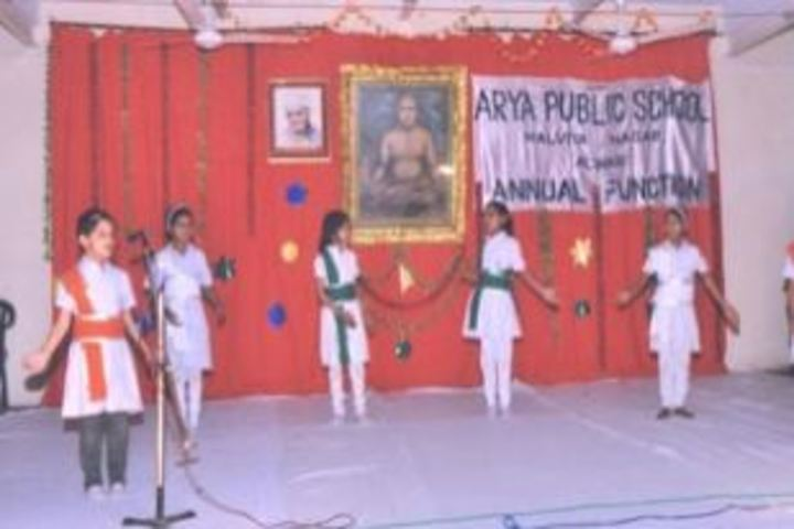 Arya Public School-Dance